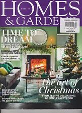 HOMES & GARDENS BRITISH MAGAZINE DECEMBER 2014.