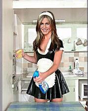 Jennifer Aniston Sexy 8.5x11 latex maid photo