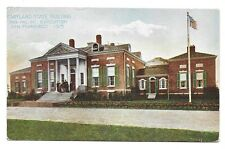 1915 Pan Pacific Expo PPIE Colorized Postcard ~ Maryland State Building