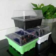 New 12 Cells Hole Plant Seeds Grow Box Tray Insert Propagation Seeding Case