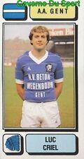 119 LUC CRIEL BELGIQUE A.A. GENT STICKER FOOTBALL 1983 PANINI
