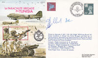 AC71b 50th Anniv of No.1 Parachute Brigade in Tunisia.Flown Hercules Crew Signed