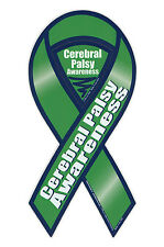 Magnetic Bumper Sticker - Cerebral Palsy Awareness - Ribbon Support Magnet
