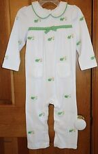 NWT Gymboree Daisy Turtlles Cotton Knit Longall / Romper ~ Girl's Size 18-24M