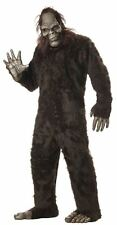 BIG FOOT FANCY DRESS COSTUME APE SASQUATCH ADULT MENS