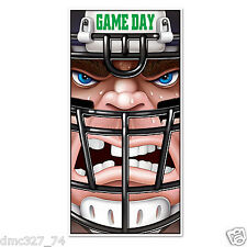 FOOTBALL Super Bowl Party Decoration Game Day Football PLAYER Door Cover