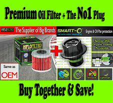 Premium Oil Filter + Smart-O Drain Plug- Honda TRX 450 R Sportrax K-Start - 2005
