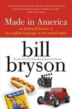 MADE IN AMERICA by Bill Bryson FREE SHIPPING paperback book history english