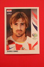 PANINI FIFA WORLD CUP GERMANY 2006 06 N. 401 HRVATSKA SIMIC  MINT!!!