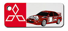 Mitsubishi Evo Rally Car Keyring