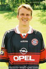 Dietmar Hamann Bayern München 1997-98 seltenes Foto