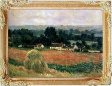 MONET HAYSTACK Dollhouse Picture - Miniature FRAMED Art - MADE IN AMERICA