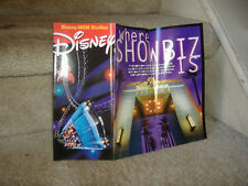WALT DISNEY WORLD DISNEY MGM STUDIOS  THEME PARK 20 PAGE INFO GUIDE AND MAP NEW