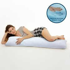 Arctic Sleep by Pure Rest Cool Gel Memory Foam Maternity/Body Pillow