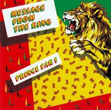 PRINCE FAR I AND THE ARABS : MESSAGE FROM THE KING / CD - TOP-ZUSTAND