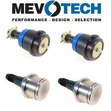 NEW Dodge Ram 2500 3500 Pair Set of 2 Front Upper & Lower Ball Joints Mevotech