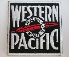 WESTERN PACIFIC Railroad PATCH Feather River Route