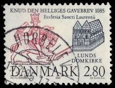 DENMARK 777 (Mi840) - Lund Cathedral and Seal of King Cnut (pf74680)