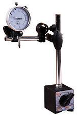 Magnetfuß Prismenfuß für Messinstrumente mit Messuhr (0,01 mm Genauigkeit)