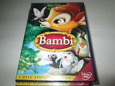 DVD - Bambi - 2 Disc Special Edition - Walt Disney Z4 - NEU
