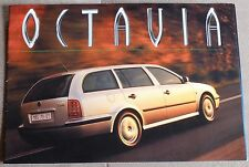 SKODA OCTAVIA 1998 PROSPEKT BROCHURE CATALOGUE ORIGINAL