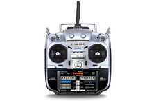 Genuine Futaba T18SZ -18 Channel 2.4GHz Mode 2 Tx only and Battery Left throttle