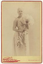 *BEAUTIFUL 19TH CENTURY MUSICAL STAR SADIE MARTINOT 1887 SARONY CABINET PHOTO*