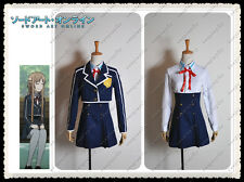Sword Art Online Alfheim Online Asuna Yuki Cosplay Costume School Uniform