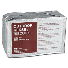 Outdoor biscuits 125g alimentaire d'urgence ration mre prepper survie outdoor