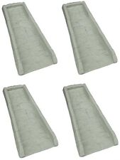 (4) ea Suncast SB24 Decorative Gutter Downspout Splash Blocks