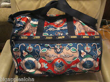 Lesportsac 7185 Large Weekender in CAPRI print, 2 pieces, NEW WITH TAG