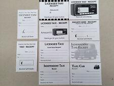 Le spese di TAXI incassi BIANCHI - 10 disegni differenti, 100 reciepts in totale