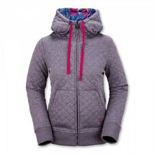Volcom Women Tansy Quilted Fleece (S) Purple