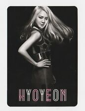 SNSD GIRLS' GENERATION Japan 3rd Tour Love & Peace Official Photo Card HYOYEON