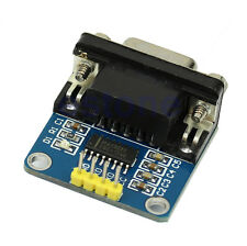 DB9 Connector With Cable RS232 Serial Port To TTL Converter Module MAX3232