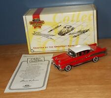 MATCHBOX Collectibles DINKY dyg02 CHEVROLET Bel Air rosso e bianco 1:43