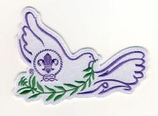 Messengers of Peace Scouts Dove Embroidered Blanket Badge