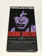 The Rolling Stones - Gimme Shelter [VHS] Remastered RARE Dolby