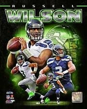RUSSELL WILSON ~ 8x10 Color Photo Picture Collage ~ Seattle Seahawks