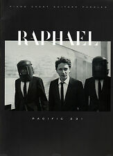 "RAPHAEL ""Pacific 231"" - 13 Titres,Piano,Chant,Guitar (PARTITIONS / SHEET MUSIC)"