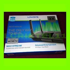 NEW - Linksys EA8500 Max-Stream AC2600 Mu-Mimo Smart Wi-Fi Gigabit Router SEALED