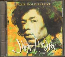 JIMI HENDRIX Axis Bold as Love  CD 13 track BOOKLET 24 page incl POSTAGE STAMPS