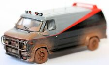 Diecast Car Model THE A-TEAM VAN WITH MUD DECO ELITE CULT MOVIE CAR Size 1:43