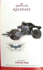 Hallmark 2013 BATMAN THE BAT-POD -Limited Edition MIB BATPOD Dark Knight Trilogy