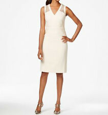 Anne Klein New Sateen Cocktail Sheath Dress Size 6 MSRP $139 #AN 858