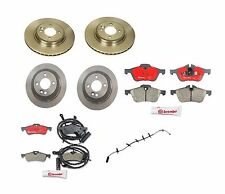 NEW Mini R50 R53 R52 Cooper Set of 2 Front Disc Brake Rotor + 2 Rear + Pads