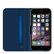 GENUINE BELKIN BLUE CLASSIC FOLIO COVER STAND WALLET CASE FOR IPHONE 6 6S PLUS