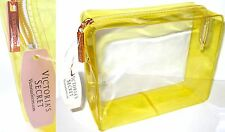 Victoria Secret Clear Yellow Bag with Signature New