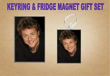 michael ball Key Ring & Fridge Magnet Set
