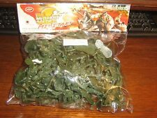 BAGS OF PLASTIC PLAY TOY SOLDIERS - ONLY £1.50 - AVERAGE NUMBER IN BAG 80